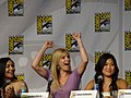 Naya Rivera, Heather Morris & Jenna Ushkowitz (4852263115).jpg