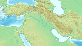 Ancient tell in Syria