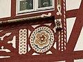 Neckargemünd - Marktplatz 14 - Fachwerkhaus von 1588 - Fassadendetail.JPG