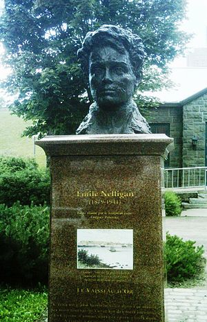 Émile Nelligan - Nelligan monument in Quebec City