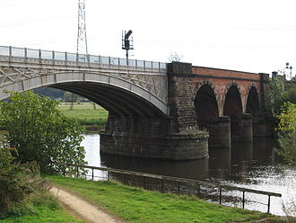 Rectory Junction Viaduct - Image: Netherfield west side of Trent Viaduct (Geograph 1001672)