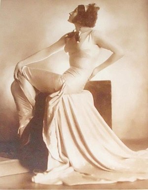 "Nevenka Urbanova - Nevenka Urbanova as Ms. Alvarez in ""This Thing Called Love"" by Edwin J. Burke, National Theatre (1928)"