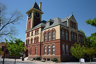 New Bern, North Carolina - New Bern City Hall