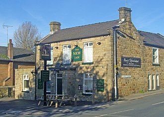 Gleadless - The New Inn on the corner of Gleadless Common and Hollinsend Road.