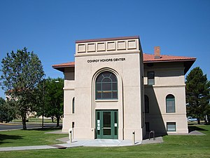 National Register of Historic Places listings in Doña Ana County, New Mexico - Image: New Mexico State University Conroy Honors Center