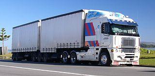 Freightliner Argosy Model line of cabover trucks