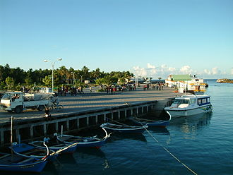 Fuvahmulah - The new harbor.