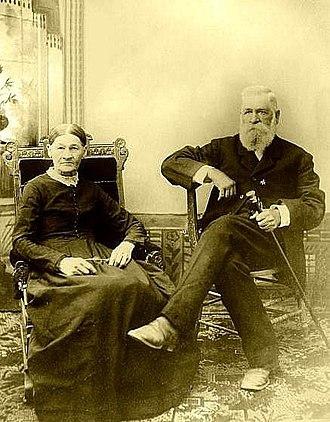 Nicholas Porter Earp - Nicholas Porter and Virginia (Cooksey) Earp c 1880–1899