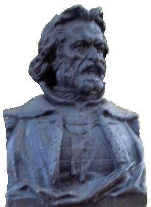 Nikolai Spathari - A bust of Nicolae Milescu