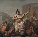 Nicolai Abildgaard - Rome as Ruler of the World - KMS601 - Statens Museum for Kunst.jpg