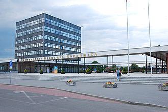 Nicolaus Copernicus University in Toruń - The rector's office at the Nicolaus Copernicus University in Toruń