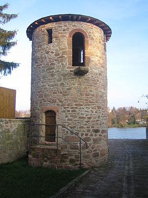 Niedernberg - The Turm am Main, restored in 2006
