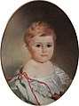 Nikolay Dm. Dolgorukov at age 1 by I. Makarov (1859, GIM).jpg