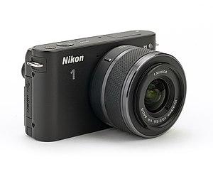 Nikon 1 J1 - A Nikon J1 with a 10-30mm lens