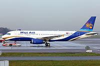 SU-BQC - A320 - Nile Air