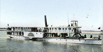 Nile riverboat, 1900