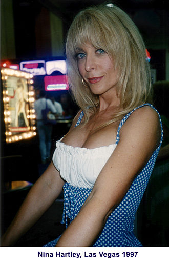 AVN Award for Best Supporting Actress - Image: Nina Hartley Las Vegas 1997
