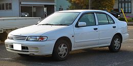 Nissan N15 Pulsar 4Door CJ-ⅠLimited.JPG