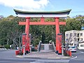 Nitta-shrine (satsuma-sendai) approach gate 1.jpg