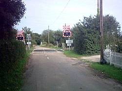 North Green Crossing - geograph.org.uk - 233384.jpg