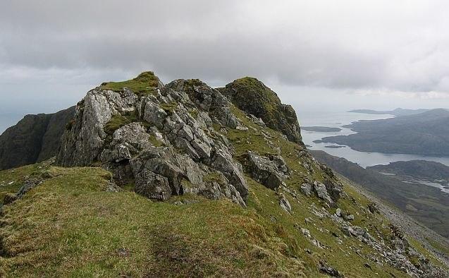 North ridge of Beinn Mhòr - geograph.org.uk - 935776