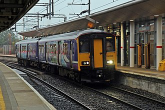 Buxton line - Northern Rail Class 150 at Stockport railway station