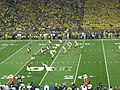 Notre Dame vs. Michigan football 2013 05 (Michigan on offense).jpg