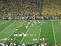 Notre Dame vs. Michigan football 2013 05 (Michigan on offense).jpg