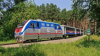 Small West Siberian Railway - Image: Novosibirsk Park Railway 07 2016 img 5