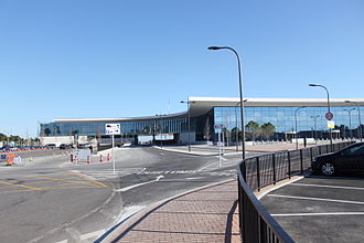 Devil's Tower Road - New terminal at Gibraltar International Airport