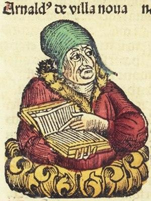 Arnaldus de Villa Nova - Image: Nuremberg Chronicle f 224r 2