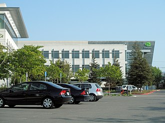 Nvidia - Headquarters at Santa Clara in 2008