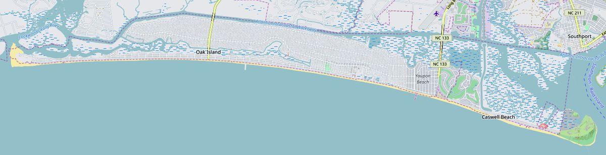 Oak Island North Carolina Wikipedia