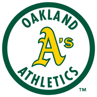 Oakland Athletics - The Athletics logo (1983–1992)