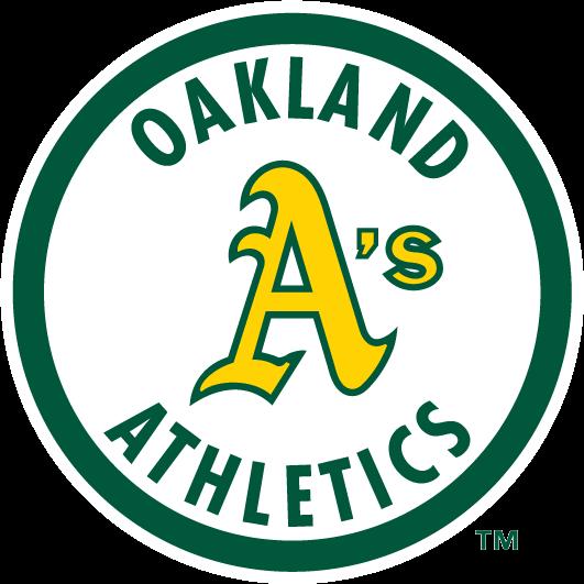 Oakland Athletics logo 1983 to 1992