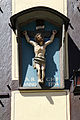 Oberwesel Chablisstraße 5, Kruzifix 1754.jpg