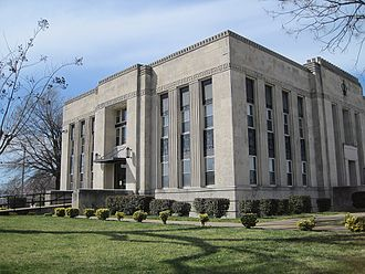 Obion County, Tennessee - Image: Obion County Court House Union City TN 2013 04 06 007