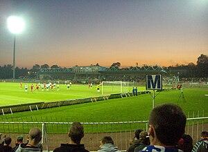 Odra Wodzisław - Match Odra vs Dyskobolia May 2008 in Wodzisław Śląski.