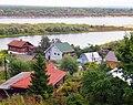 Oka River bank in Gorbatov.jpg