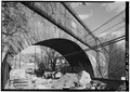 Old Croton Aqueduct, Sing Sing Kill Bridge, Spanning Aqueduct Street and Broadway, Ossining, Westchester County, NY HAER NY,60-OSS,2A-17.tif