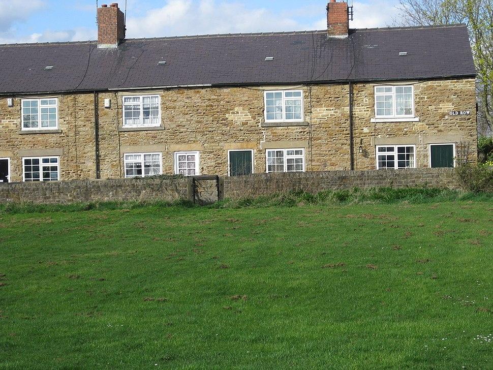 Old Row cottages Elsecar March 2017