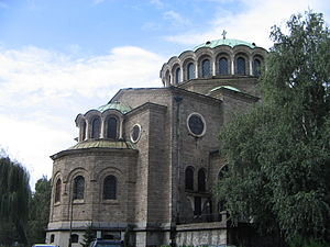 St Nedelya Church - Image: Old church in Sofia, Bulgaria September 2005