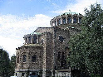 St Nedelya Church - Image: Old church in Sofia, Bulgaria September 2005
