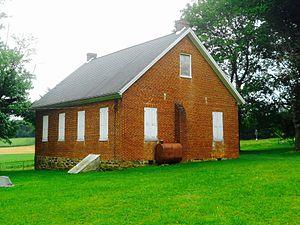 Codorus Township, York County, Pennsylvania - Church on Chestnut Grove Rd., south of Jefferson
