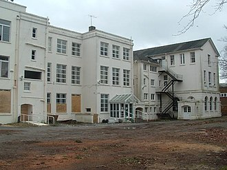 La Sainte Union College of Higher Education - The former college buildings in 2008
