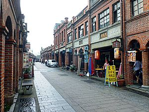 History of Taipei - Old street in Taipei. 2013
