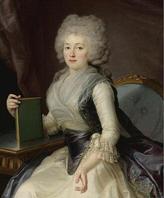 Olga Zherebtsova - Olga Zherebtsova in the 1780s.