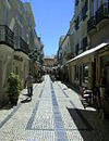 Olhão pedestrian area rua do Comércio, Algarve, Portugal.JPG