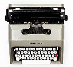 OLIVETTI LETTERA 32 inchiostro nero//rosso Nastro per scrivere