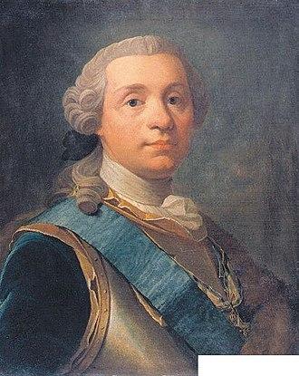 Olof Arenius - Image: Olof Arenius portrait of Augustin Ehrensvärd
